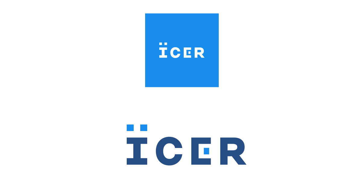 bluedesign / design your future - logo icer