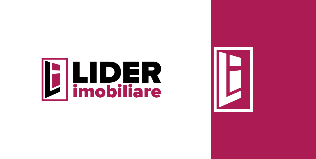 bluedesign / design your future - logo lider imobiliare / custom design artifacts