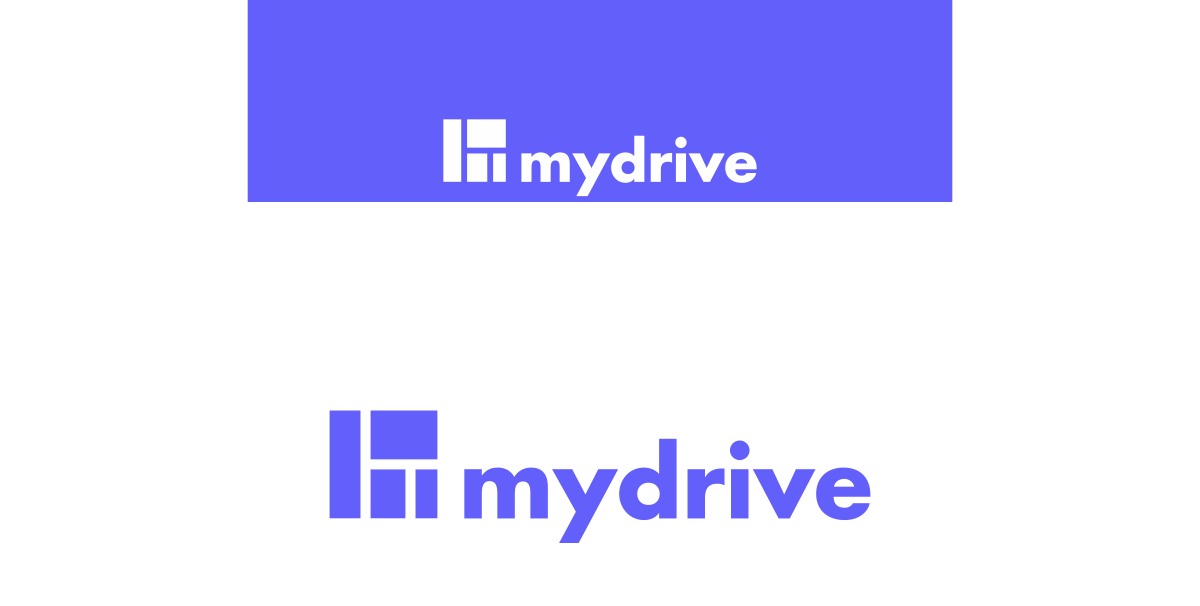 bluedesign / design your future - logo mydrive