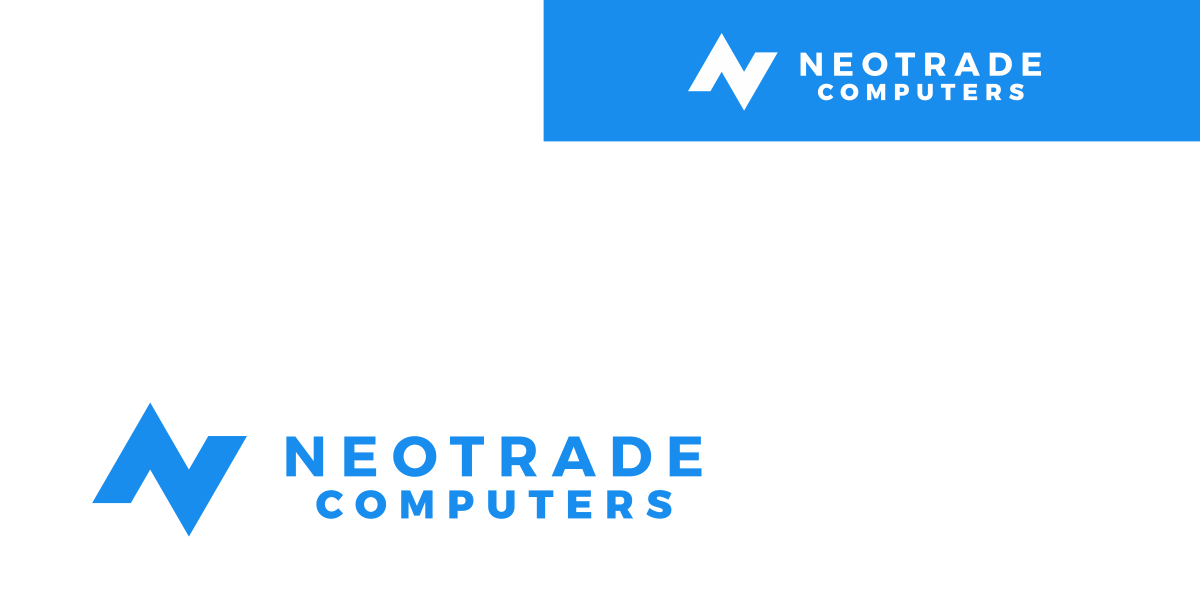 bluedesign / design your future - logo neotrade / custom design artifacts